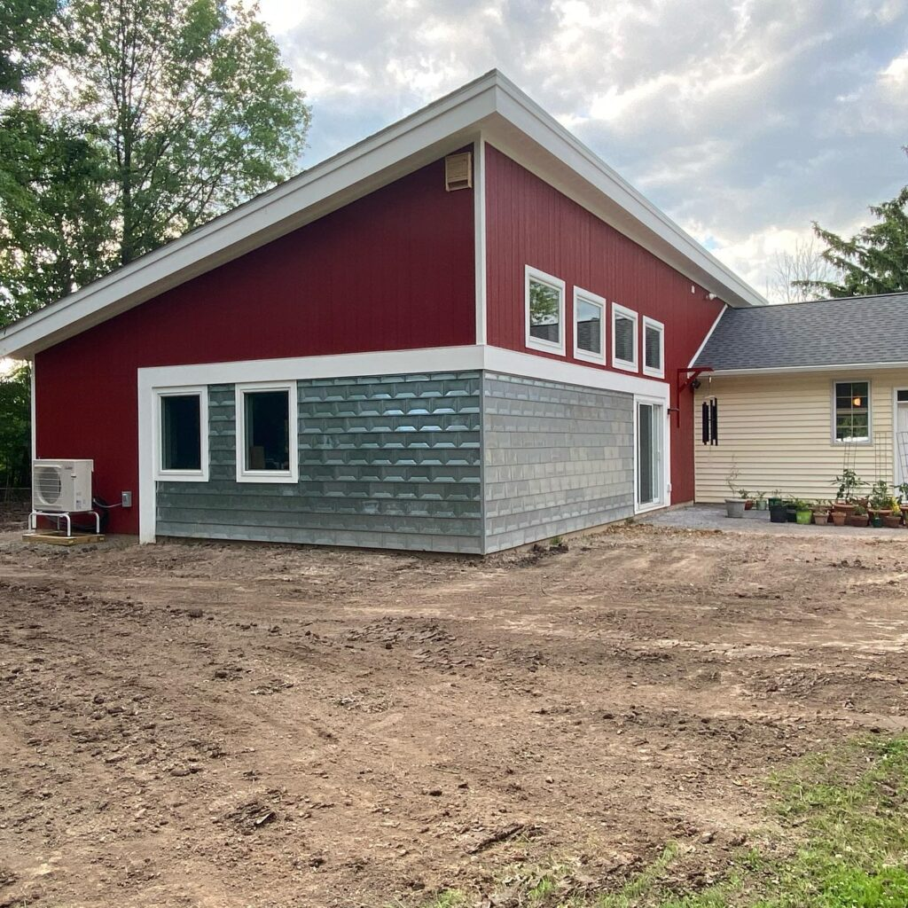 garage bump out home addition   Clarence Center