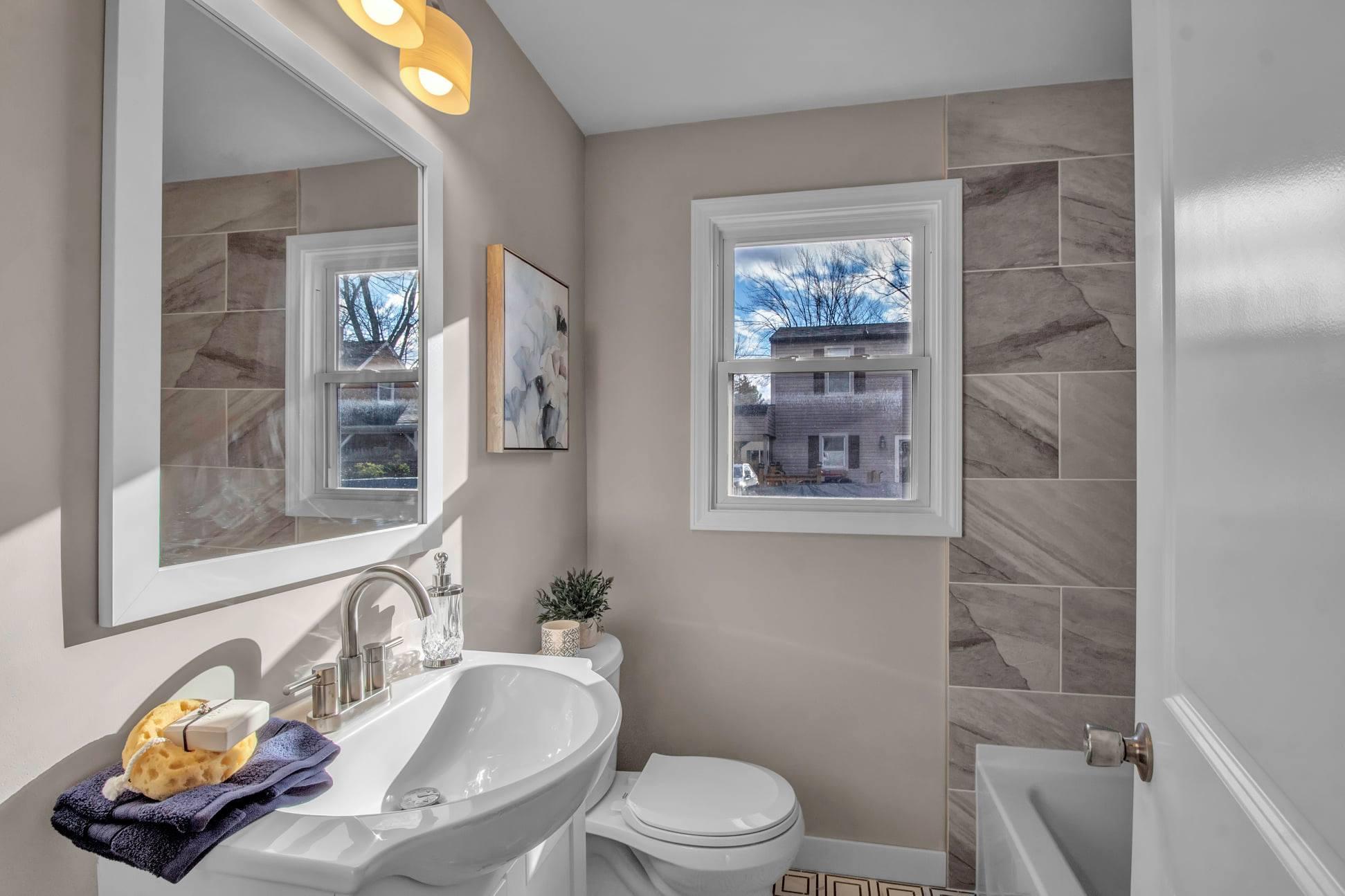 average cost of new bathroom