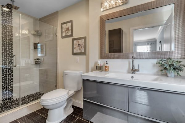 TBrothers bathroom remodel