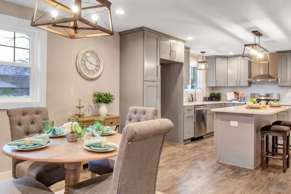 High quality kitchen renovation open concept