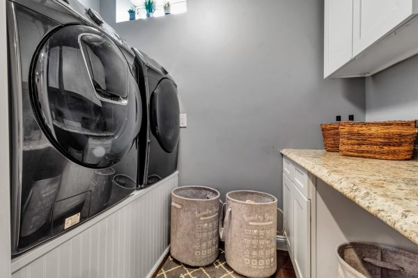 washroom laundryroom renovation